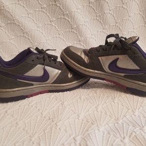 Nike Air Force 1 Purple Silver Grey 7.5